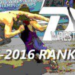 2015-2016 Rankings